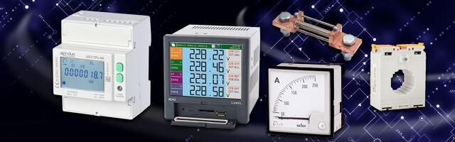 Paneelmeters in digitale of analoge uitvoering