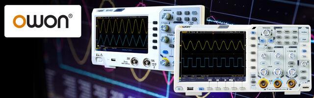 Oscilloscopes numériques d'OWON déjà dans le catalogue TME