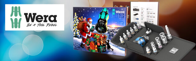 Gift for DIY enthusiasts – Christmas set from WERA